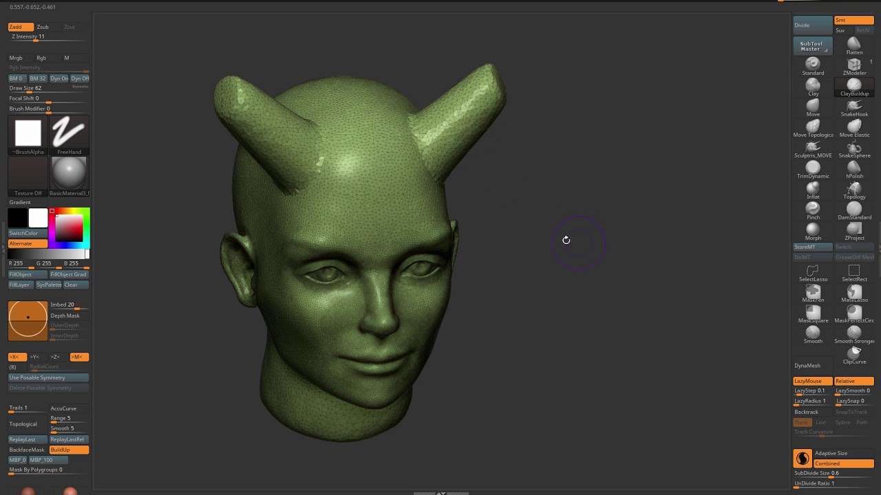 ZBrush : Sculptris Pro Tip : My preferred workflow for Sculptris Pro