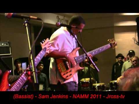 James Ross @ Sam Jenkins Bass Solo  Ken Smith Basses