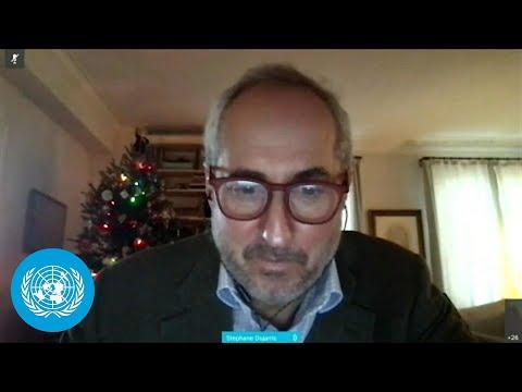 Secretary-General In Berlin \u0026 Other Topics - Daily Briefing (17 December 2020)