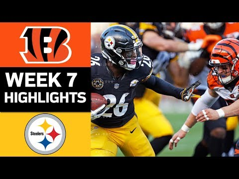 Bengals vs. Steelers | NFL Week 7 Game Highlights