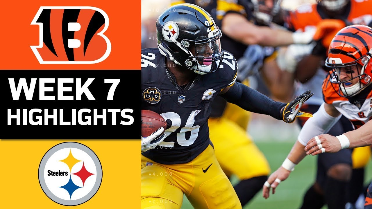 1b0d3bbe Bengals vs. Steelers | NFL Week 7 Game Highlights