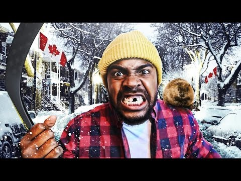 THE BIGGEST CANADIAN IN CANADA?!