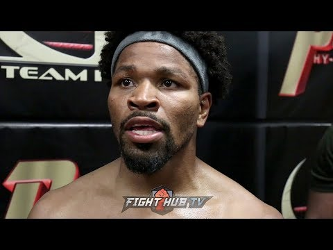 SHAWN PORTER DESCRIBES WHAT TO EXPECT IN FIGHT WITH ERROL SPENCE IT WOULD BE TREMENDOUS!