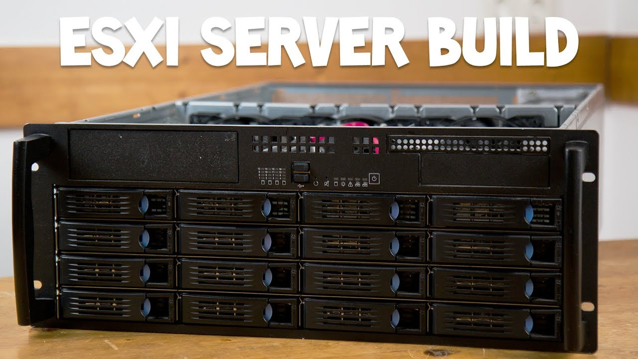 Extrem VMware ESXi Server Build - Homeserver selber bauen [Deutsch/German DN85