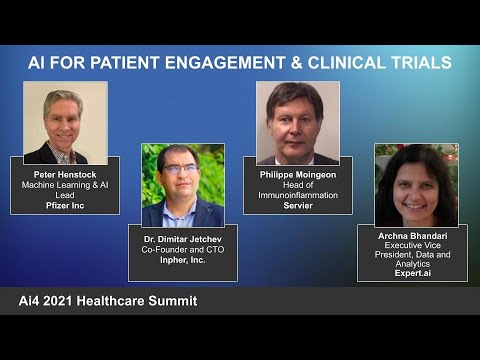 Panel: AI for Patient Engagement & Clinical Trials