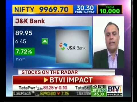 View on Sterlite Technologies Ltd & Jammu And Kashmir Bank : StockAxis