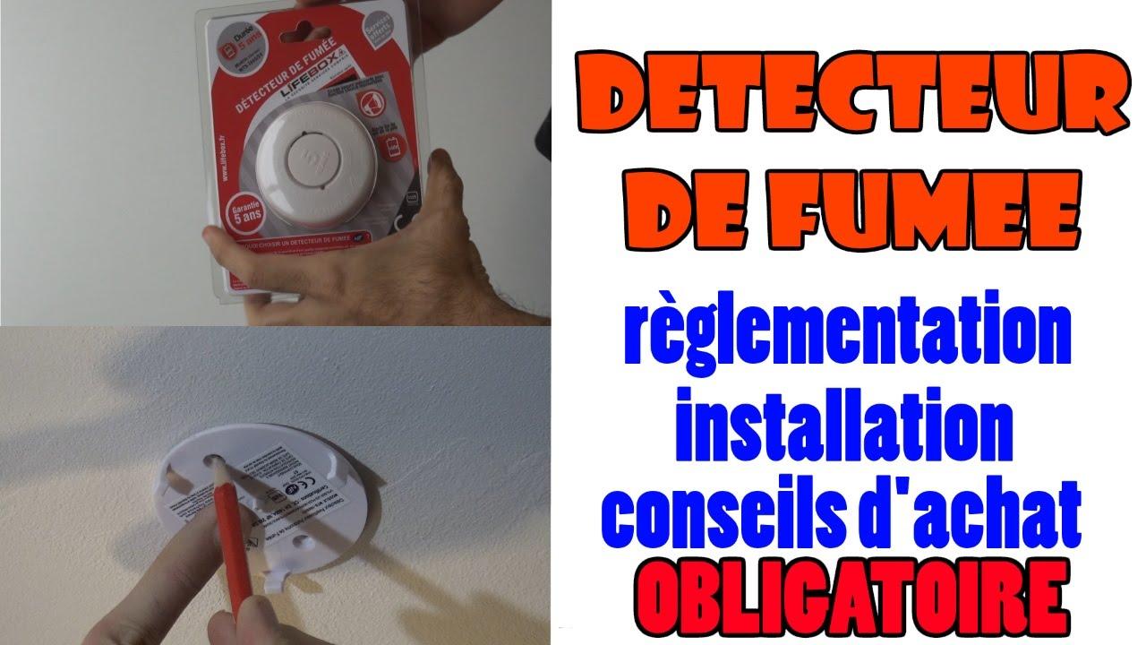 Installer Un Detecteur De Fumee Installation Pose Reglementation