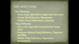 yang deficiency cold symptoms in chinese medicine