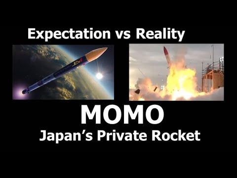 Japan's Private Rocket - The Momo (Yes, It Exploded)