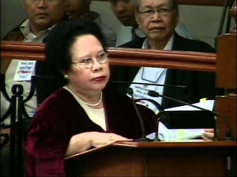 Sen. Miriam berates Private Prosecutor Atty. Arthur Lim