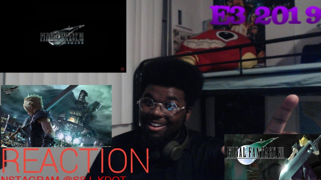 Final Fantasy VII Remake Official Release Date Trailer Reaction YouTube