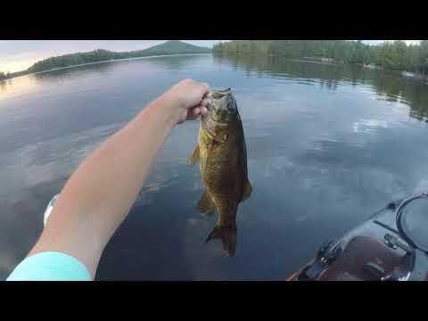 Pike And Bass Fishing Tupper Lake/Simon Pond NY