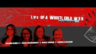 Rebecca Davis hosts the panel Life of a Whistle-blower | The Gathering 2018