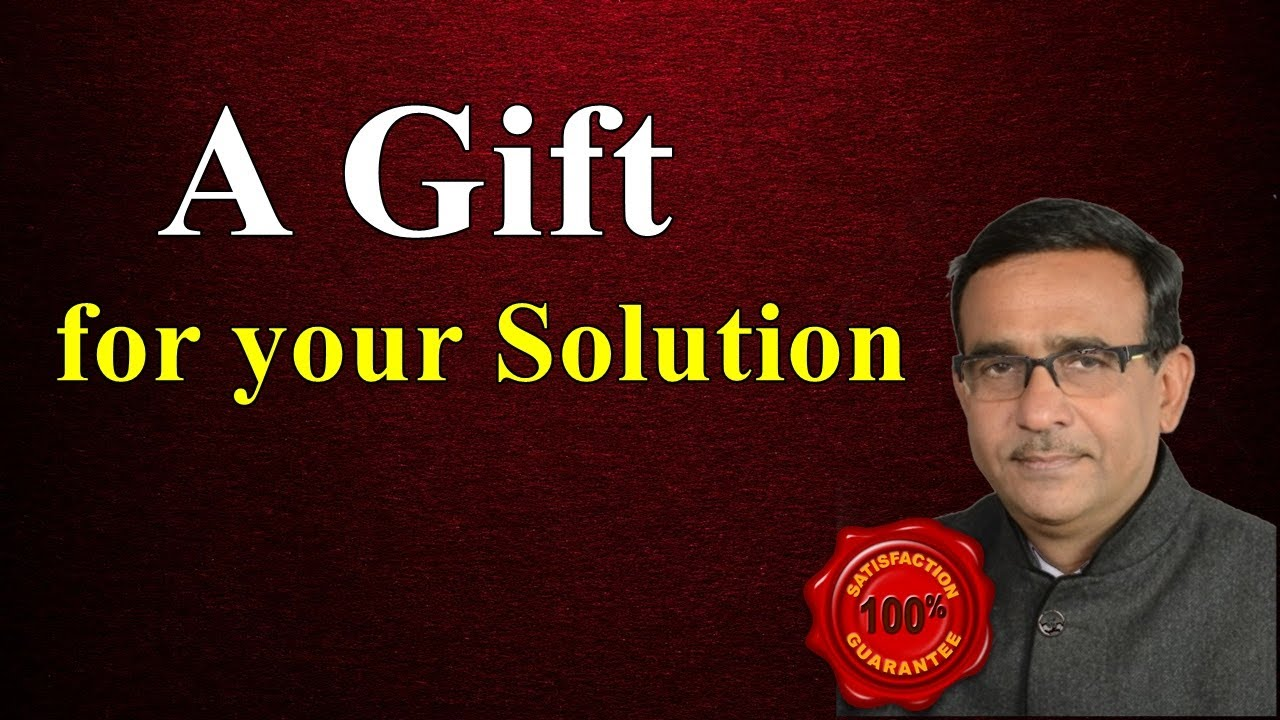 Class 10 maths  A Gift for your Solution R  B Classes