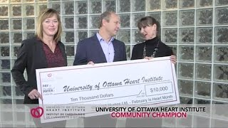 Valecraft Homes supports the University of Ottawa Heart Institute
