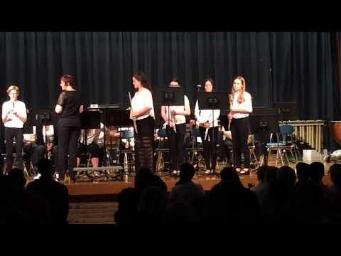 New Market Middle School 8th Grade Winter Concert 2017