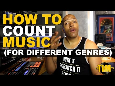 How to count music for different genres