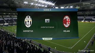 FIFA 15 - Gameplay - Juventus Turin VS AC Milan  - Xbox One - Full Game  [ HD ]