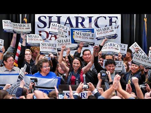 Democrat Sharice Davids wins Kansas' 3rd Congressional District