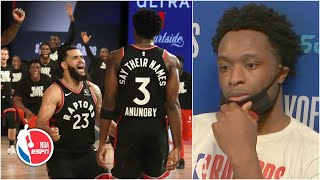 OG Anunoby breaks down game-winning play in Game 3 vs. Celtics | 2020 NBA Playoffs