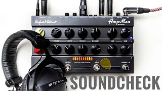 Hughes & Kettner AmpMan Classic |AmpMan Modern. How do they sound in the studio?