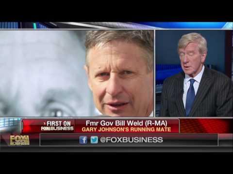 Gov Bill Weld announces 2016 Libertarian VP campaign on Cavuto