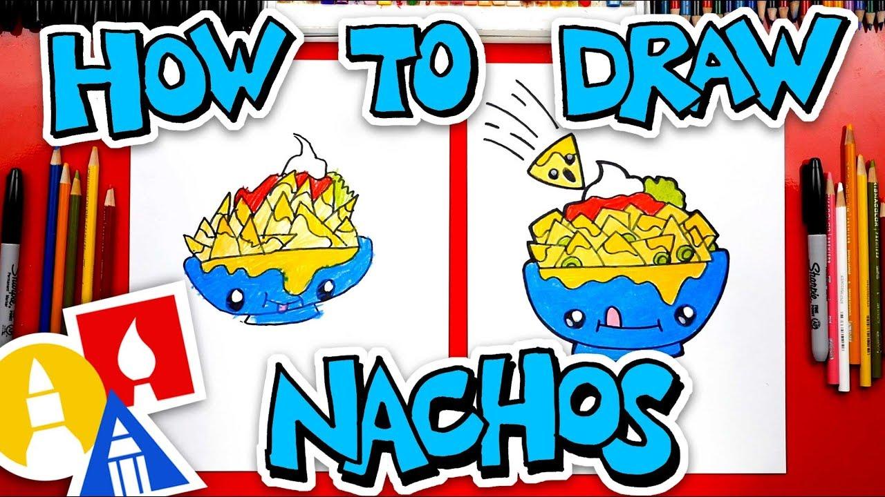 How To Draw Funny Nachos