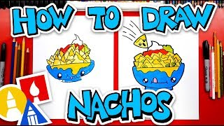How To Draw Funny Nachos