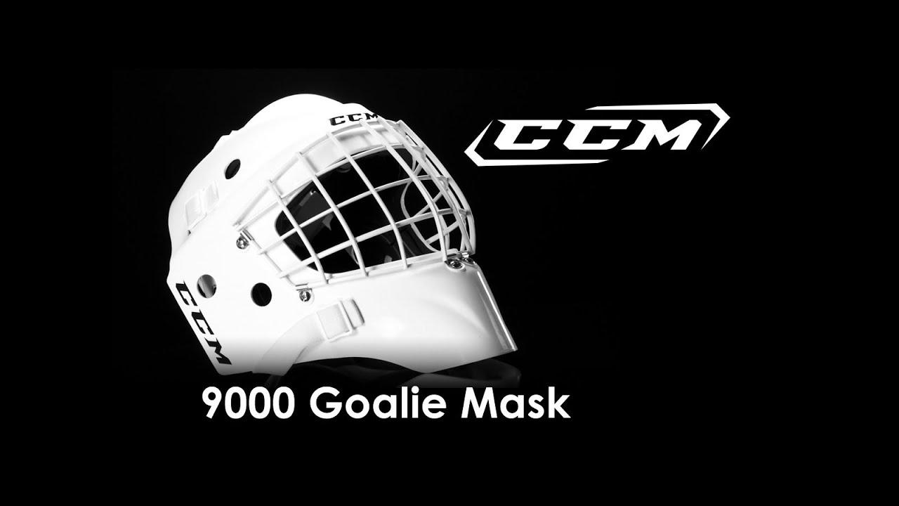 bb6a959e4ae CCM 9000 Goalie Mask Review - YouTube