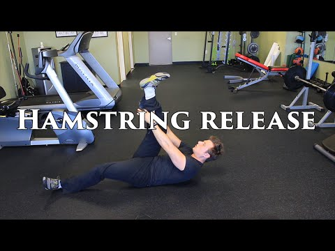 The BEST Way To Release Tight Hamstrings | Hamstring Stretching & Myofascial Release