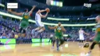 Danilo Gallinari Amazing Dunk Jazz@Nuggets January 25, 2017