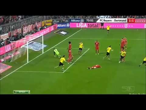 Mario Gotze Goal vs Bayern HD