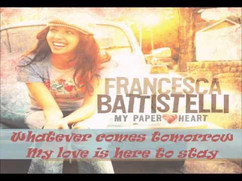 Francesca Battistelli- Blue Sky [Lyrics]