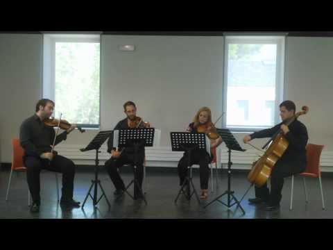 Cuarteto Cibeles, 1er Movimiento de la Muerte y la Doncella de F. Schubert