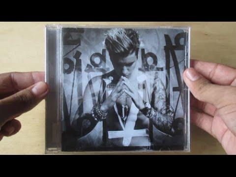 Purpose ( Album Deluxe Edition ) - Justin Bieber - Unboxing CD En Español
