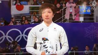 Felicitations! Nao Kodaira! Gold medalist for 500m speed skate~Winter Olympic 2018