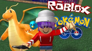 ROBLOX LET'S PLAY POKEMON GO ROLEPLAY | DRAGONITE! | RADIOJH GAMES
