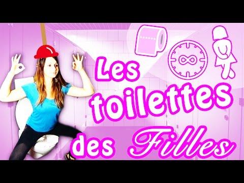 LES TOILETTES DES FILLES! - ANGIE LA CRAZY SÉRIE -
