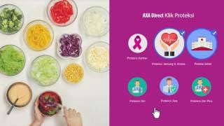AXA - Beli asuransi online semudah pilih salad