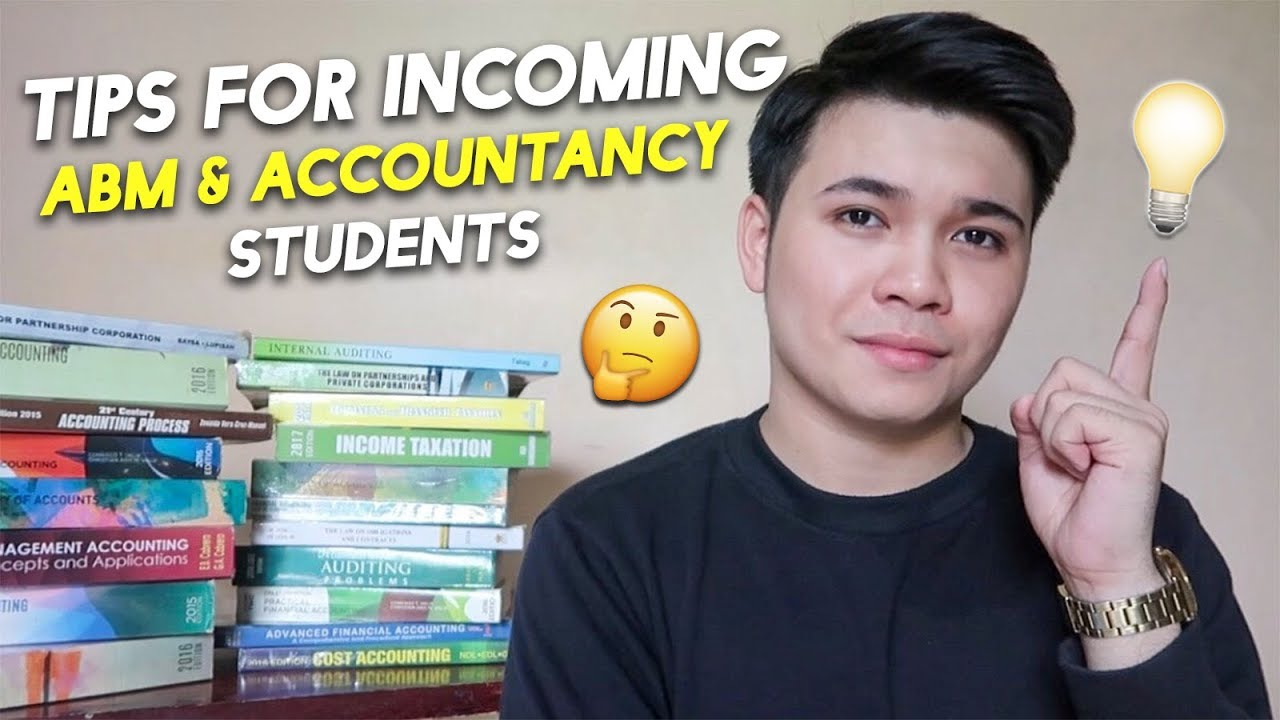 Tips for Incoming ABM Students & Accountancy! (Philippines)