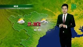 VTC14   Thời tiết 12h 18/04/2018   Trời chuẩn bị chuyển xấu ở miền Bắc