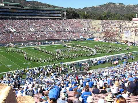UCLA Marching Band Plays UCLA Fight Song