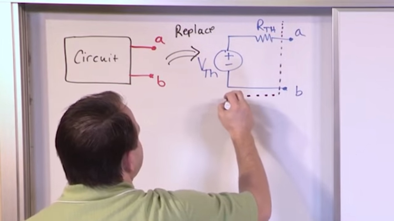 Lesson 5 Thevenin Equivalent Part 1 Engineering Circuits Youtube Ac Circuit With Current And Voltage Source
