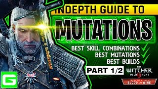 the witcher 3 blood wine new mutation skill system full explanation build guide tutorial part 12