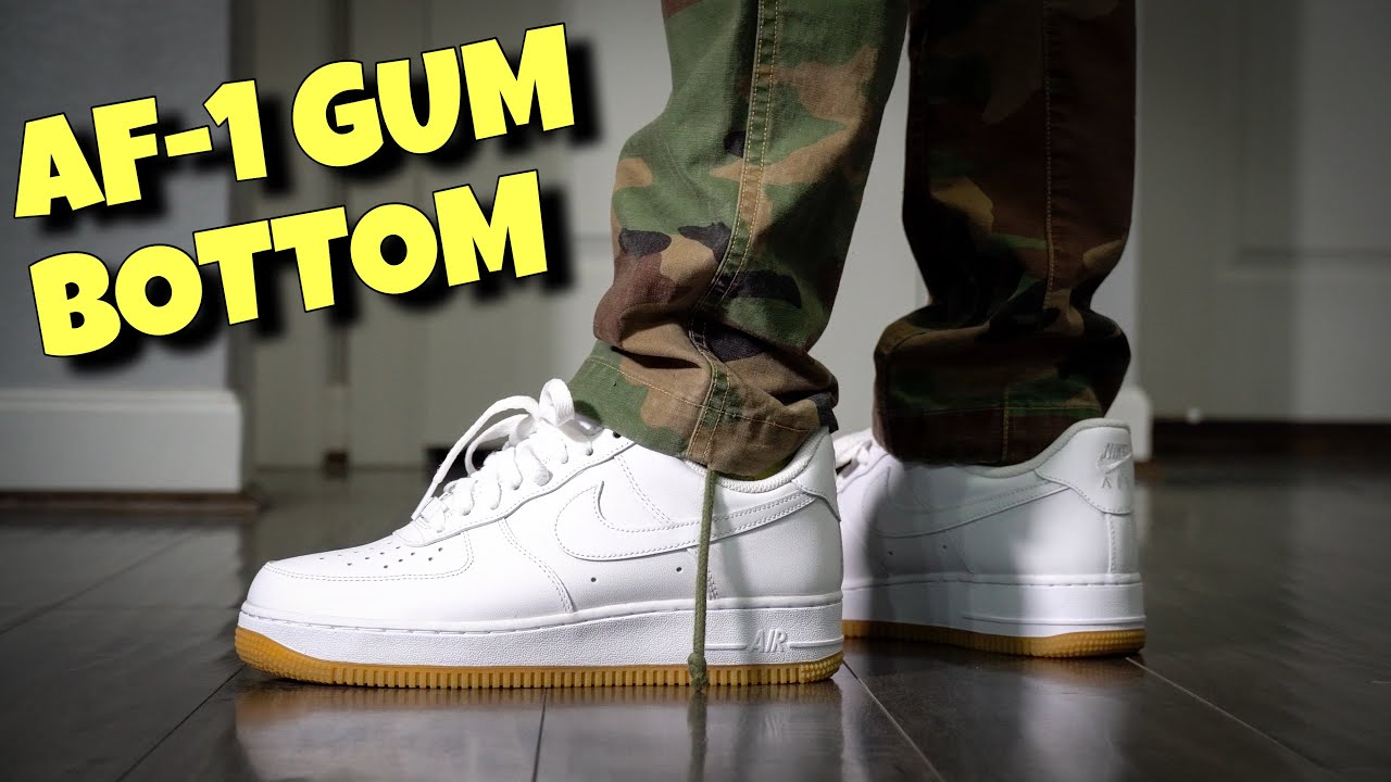 Nike Air Force 1 Low Gum Bottom