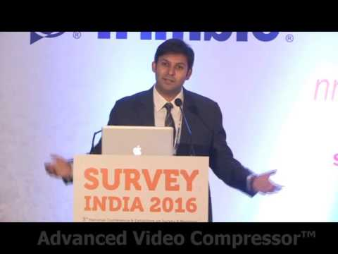 Shri Rohan Verma, Chief Technology Officer, MapmyIndia @ Survey India 2016