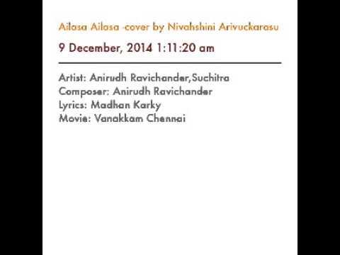 Ailasa Ailasa -cover by Nivahshini Arivuckarasu