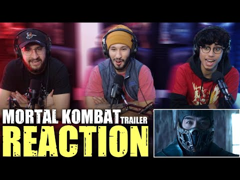 [REACTION] Mortal Kombat Red Band - Chillin With Villains