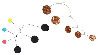 Calder-Inspired Mobiles - Projects #65 and #44