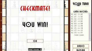 trik main catur skakmat cuma 9 langkah